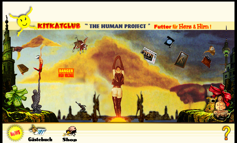 KitKatClub The Human Project - Futter für Herz und Hirn-
