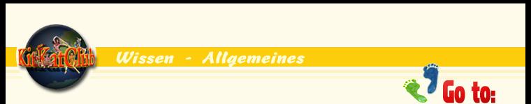 Wissen / Allgemeines